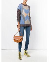 A.P.C. Brown Diane Crossbody Bag