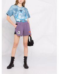 Heron Preston レイヤード トラックショーツ Purple