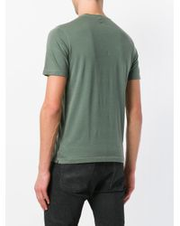 Zanone Green Crew Neck T-shirt for men