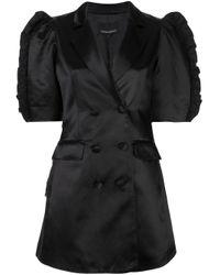 Cynthia Rowley Paz ジャケットドレス Black