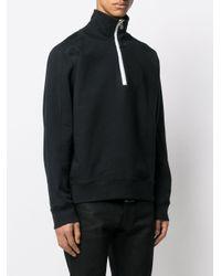 メンズ Zilver ハーフジップ スウェットシャツ Black