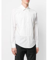 Vivienne Westwood Anglomania - White Panelled Shirt for Men - Lyst