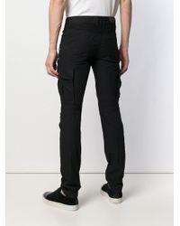 Jean à détails de zips Balmain pour homme en coloris Black