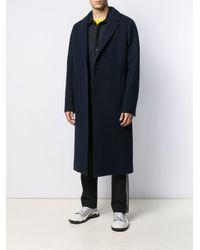 Manteau long classique McQ Alexander McQueen pour homme en coloris Blue