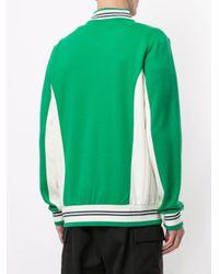 メンズ Fila ロゴ スポーツジャケット Green