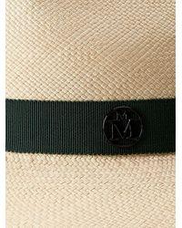 Шляпа-федора Henrietta Maison Michel, цвет: Multicolor