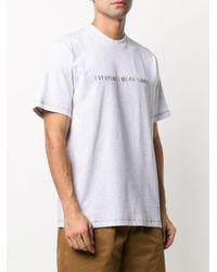 メンズ Sunnei スローガン Tシャツ White