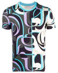 Emilio Pucci Ep20 バイカラー Tシャツ Black