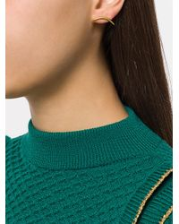 Niomo - Metallic Pinanga Stud Earrings - Lyst
