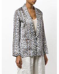 Forte Forte Multicolor Animal Print Kimono Jacket