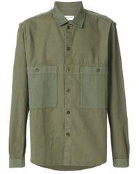 YMC Green Savage Shirt for men