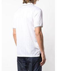 メンズ Givenchy ロゴ ポロシャツ White