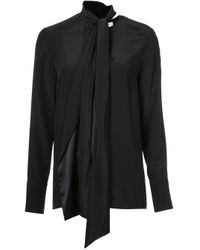 Jason Wu Collection Black Pussy Bow Blouse