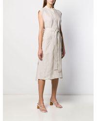 Mackintosh リネン ノースリーブ ドレス Linwood Wdr-1001 Multicolor