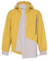 Imperméable asymétrique à capuche A_COLD_WALL* pour homme en coloris Yellow