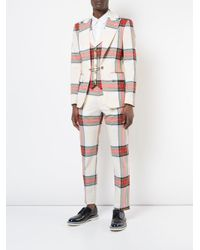 Vivienne Westwood - Multicolor Tartan Blazer With Waistcoat for Men - Lyst