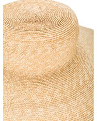 Rosie Assoulin Natural Palapa Straw Hat