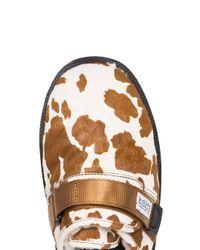 Slippers à imprimé animalier Suicoke pour homme en coloris Brown