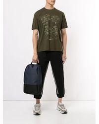 メンズ Neil Barrett グラフィック Tシャツ Green