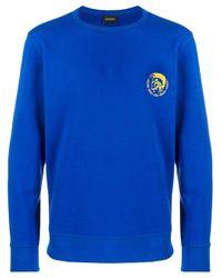 メンズ DIESEL Umlt-willy スウェットシャツ Blue