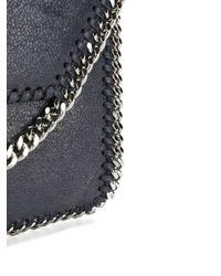 Stella McCartney - Blue Mini Falabella Shoulder Bag - Lyst
