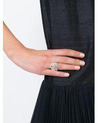 Aurelie Bidermann Metallic 'marella' Ring
