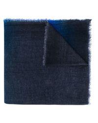 Faliero Sarti Chiary スカーフ Blue