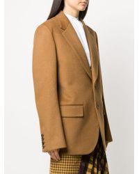 Blazer ample classique Junya Watanabe en coloris Brown