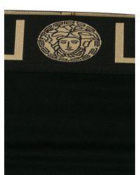 Versace Black Slip mit Greca-Muster
