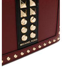 Bolso de hombro con apliques MICHAEL Michael Kors de color Red