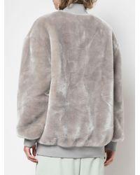 Tibi トラックジャケット Gray