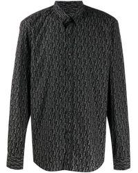Рубашка С Логотипом Ferragamo для него, цвет: Black