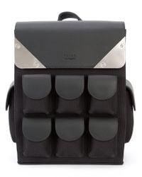 Valas Black Micro Voyager Backpack