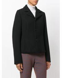 Marni Black Crepe Double Faced Blazer