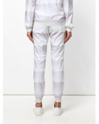 Reebok White Gradient Track Pants