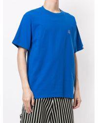 メンズ A Bathing Ape クルーネック Tシャツ Blue
