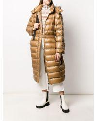 Moncler ロング パデッドコート Multicolor
