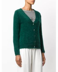 P.A.R.O.S.H. Green Langy Cardigan
