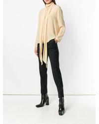 Blusa con collo lavallière di The Row in Multicolor