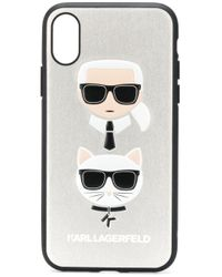 Karl Lagerfeld Ikonik Karl Iphone X/xs ケース Multicolor