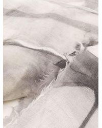 Brunello Cucinelli フリンジ スカーフ Multicolor