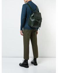 Большой Рюкзак На Шнурке Mansur Gavriel для него, цвет: Green