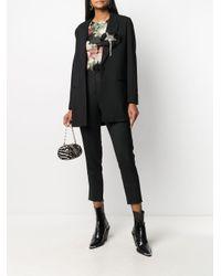 Twin Set フローラル Tシャツ Black