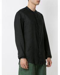 Chemise en lin Osklen pour homme en coloris Black