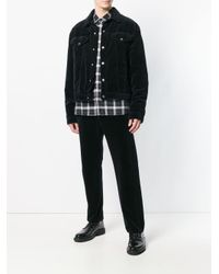 McQ Alexander McQueen Black Straight Leg Classic Jeans for men