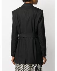 Calvin Klein ベルテッド ジャケット Black