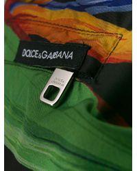 Short de bain à imprimé tropical Dolce & Gabbana pour homme en coloris Green