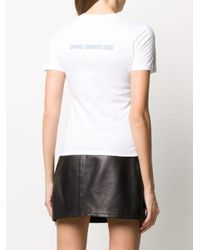 Ermanno Scervino Normal プリント Tシャツ White