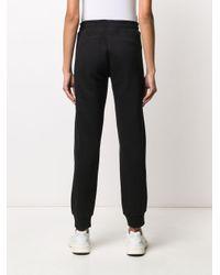 Calvin Klein ロゴ トラックパンツ Black