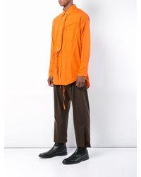 メンズ Bed J.w. Ford タイ ディテール シャツ Orange